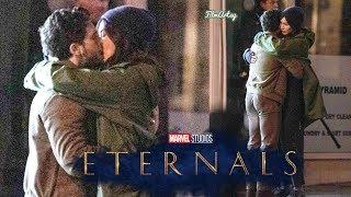 Eternals - Exclusive Set Photos Reveals Major Movie Plot | Angelina Jolie | Kit Harington