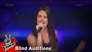 Christie Bell - Bad Girls   7o Blind Audition   The Voice of Greece