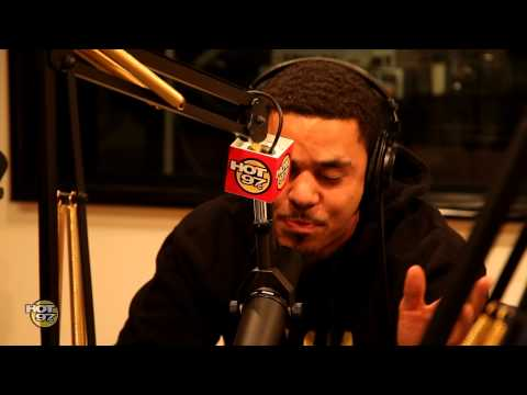 J.Cole Freestyles on FunkMaster Flex PT2