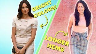Women Follow Royal Fashion Rules For A Week