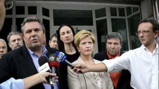 Δηλώσεις Π.Καμμένου στη Γερμανική πρεσβεία 9-10-12