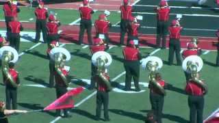 'Halftime Performance (10.3.15) - Pride of the Plains Marching Band