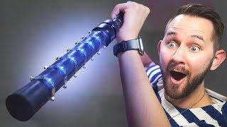One Million Volt STUN CANE!   10 Ridiculous Tech Gadgets