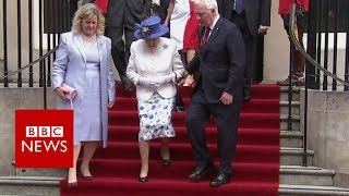 Canada official in protocol breach with Queen- BBC News