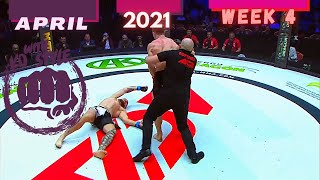 Boxing & MMA Knockouts | April 2021 Week 4