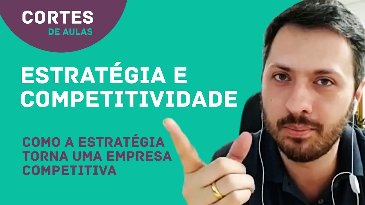 Capa da aula As estratégias competitivas genéricas de Porter