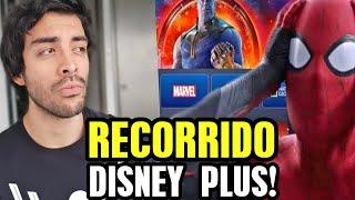 ASÍ es Disney Plus en Latinoamérica ¿vale la pena? Marvel, Pixar, Star Wars recorrido...