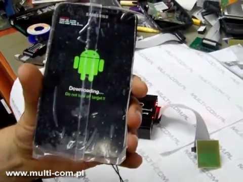 Samsung N7000 (Galaxy Note) - JTAG/RIFF connection unbrick (repair
