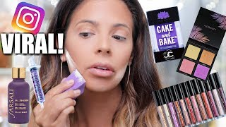 SUPER VIRAL INSTAGRAM MAKEUP PRODUCTS | HIT OR MISS?
