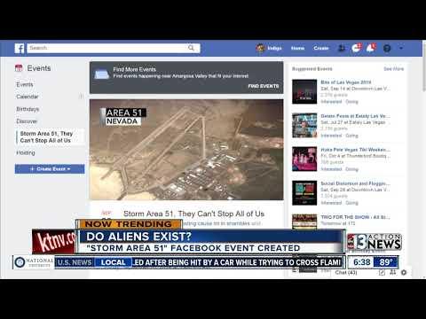 Storm Area 51 trending online