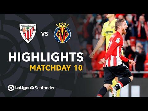⚽ HIGHLIGHTS I Athletic Club 2-1 Villarreal CF I LaLiga Matchday 10