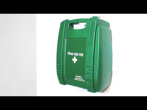 Safety First Aid Workplace First Aid Kit British Standard Compliant Evolution Plus Case - Medium