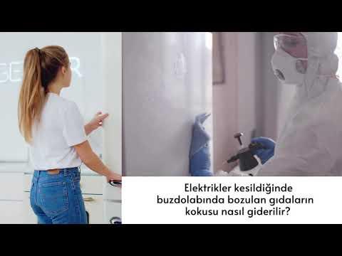 Buzdolabindaki çürümüs et kokusu nasil giderilir