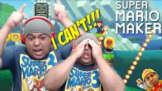 I CAN'T DO THIS SH#T NO MORE!!! [SUPER MARIO MAKER] [#52]