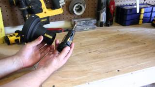 DeWALT Adjustable Depth Setter with Dust Control System