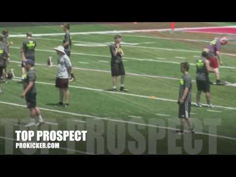 Brady Buell, Kickoffs, Ray Guy Prokicker.com Top Prospect Camp 2016