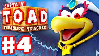 Captain Toad: Treasure Tracker - Gameplay Walkthrough Part 4 - Wingo Boss 100%