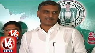 Min Harish Rao assures farmers on buying cotton yield..