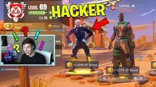 So I found a REAL Fortnite Hacker.. (Fortnite Battle Royale)