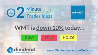 Is Wal-Mart (WMT) A Buy After the 10% Sell-off? [2-Minute Trade Idea]