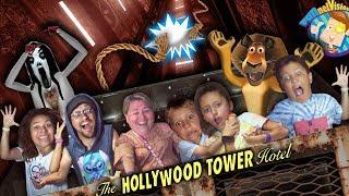 The ELEVATOR DROPPED!!  (FV DISNEY WORLD & UNIVERSAL STUDIOS Vlog)