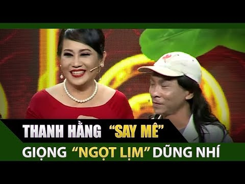 Giám Khảo Thanh Hằng say mê giọng hát ngọt lịm của Dũng Nhí