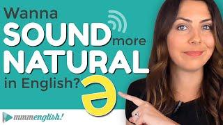 The SCHWA Sound! English Pronunciation Lesson