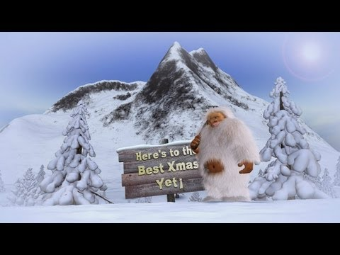 DIGITALmotion: Animated Christmas Card - Dancing Yeti
