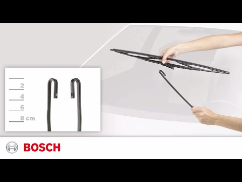 """Bosch 26/"""" Inch Super Plus Universal Wiper Blade SP26 For Hooked Wiper Arms"""
