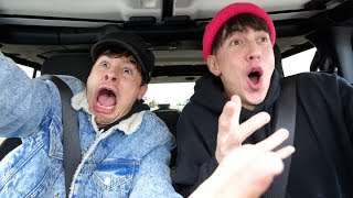 CAR RIDES with BOBBY AND KIAN!! (our crushes/singing/girl talk)