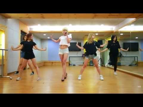 STEPHANIE - 'PRISONER' DANCE PRACTICE