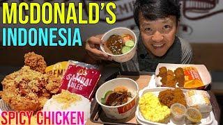 Dinner at McDonald's Indonesia & Truffle SOUP DUMPLINGS