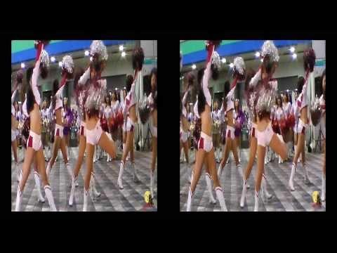 2010 JAPAN X BOWL ウェルカムダンスショー 3D(Xリーグ チアリーダー)