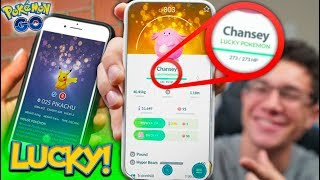 """The NEW """"LUCKY POKÉMON"""" UPDATE REVEAL in Pokémon GO!"""