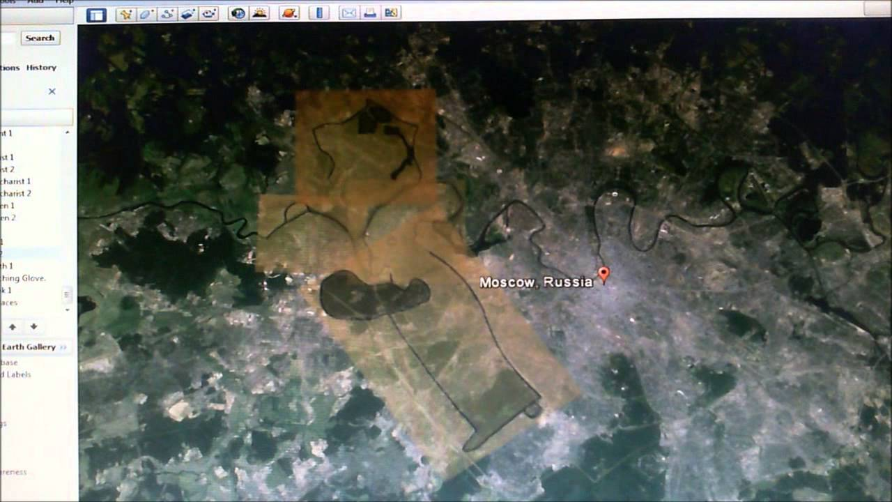 Russia .Google Earth Series.The Beginning Of The Great Tribulation Mapped Out.NWO. - Smashpipe People Video