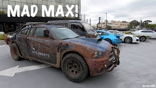 Real Life Mad Max Fury Road Style Dodge Charger! Baller Stanced Lexus LS400, McLaren P1 | Vlog