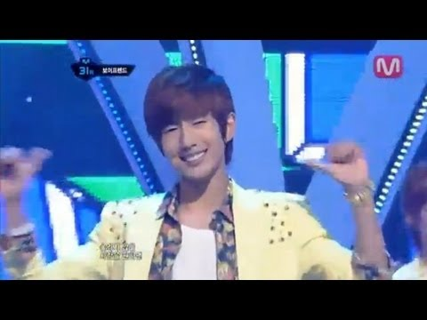보이프렌드_러브스타일(Love Style by Boyfriend@Mcountdown 2012.07.26)