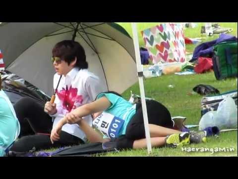 [Fancam] Happy 27th SungMin - Heechul×Sungmin (heemin)