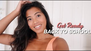 BACK TO SCHOOL: chitchat get ready with me!