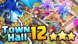 TOWN HALL 12 Electro Dragon & Lavaloon Attack Strategy in Clash of Clans - 3 Star TH12 Attacks!