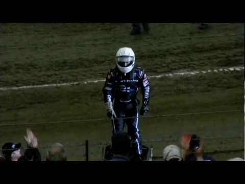 Kevin Swindell - Donuts with no Steering Wheel - 2013 Chili Bowl ...