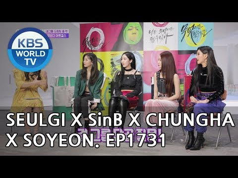 Seulgi X SinB X Chungha X Soyeon [Entertainment Weekly/2018.10.01]