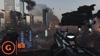 Call of Duty: Advanced Warfare - E3 2014 Gameplay Demo - Microsoft Press Conference