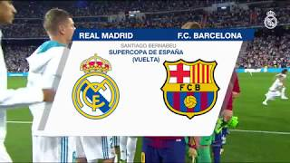 REAL MADRID 2-0 BARCELONA | Highlights (Spanish Super Cup 2017)