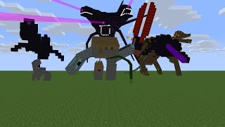 Monster school wither storm part FINALE ep 4