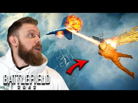 Battlefield 2042 Reaction.... THIS IS CLASSIC BATTLEFIELD