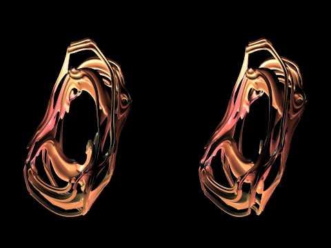 OpenGL S3D Mandelbrot3D HSBS JOGL