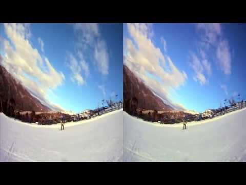 3D GoPro Snowboarding - Thredbo in 3D August 2011