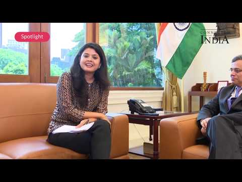 H.E. Jawed Ashraf, India's High Commissioner to Singapore - Connected to India