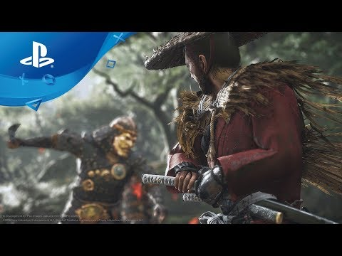 Ghost of Tsushima | Gameplay-Debüt auf der E3 2018 | PS4